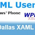 Hey Dallas! I'll be presenting tonight at the Dallas XAML User Group, meeting at the Improving offices in Addison. One of the things that I really like about the Dallas […]