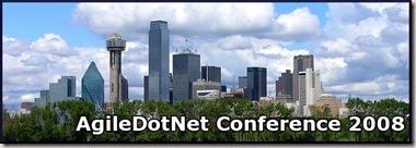 AgileDotNet2008