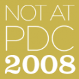 First, follow the virtual event going on this week on Twitter, Live Meeting and other various virtual platforms. Get all of the updates at http://notatpdc.com/ (like the schedule and presenters) […]