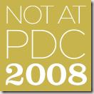 NotAtPDC